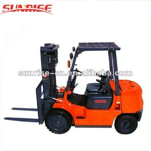 3m Lifting height 2 Ton capacity yale diesel forklift