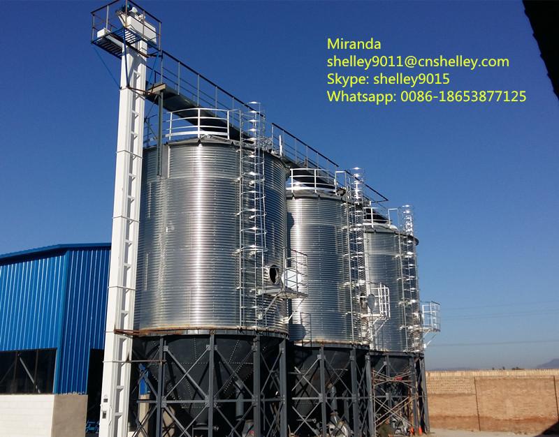 Steel Hopper Barley Food Grain Storage Bins - Buy Barley Storage Bins,Food  Grain Storage Bins,Steel Hopper Bins Product on Alibaba com