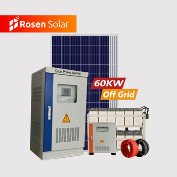 High Power Off Grid Solar Power Energy Systems 60KW