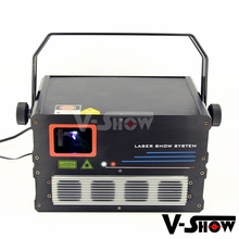 New year 1W 3D laser light animation rgb show projector 20k High speed module scanner