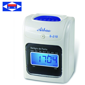 Portable Date Time Stamp Attendance Machine For Employee