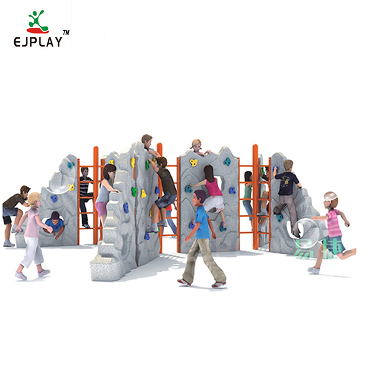 High Quality Used Kids Fitness Outdoor Rock Climbing Wall
