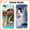 Cartoon Movie Princess Transparent TPU Cover Case for iphone 7 Shell Silicone Phpne Case for Samsung J7 Bulk
