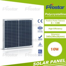 high efficiency solar energy panel 10w Monocrystalline Solar Panel