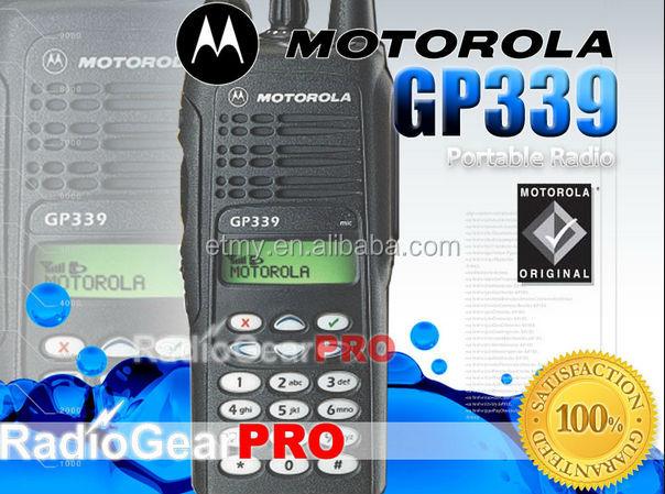 Motorola Gp-339 4/5watt Portable Radio,Dtmf 450-527mhz Radio
