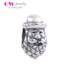 Beard Man Sterling Silver Bead Wholesale European Silver Bead Fit All Brands