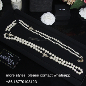 Pearl necklace fashion jewelry necklace