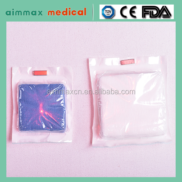 100% cotton surgical sterile absorbent gauze swab,gauze swabs sterile pouches,green gauze swabs