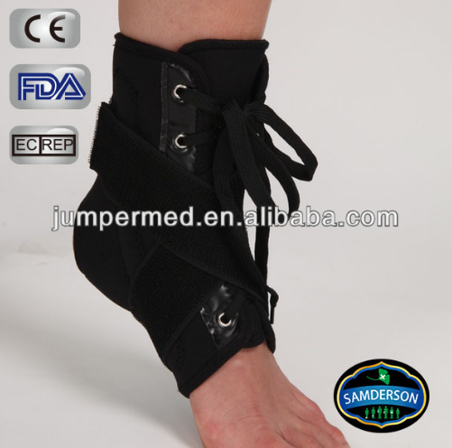 Atado ankle brace / lace up ankle guard suporte