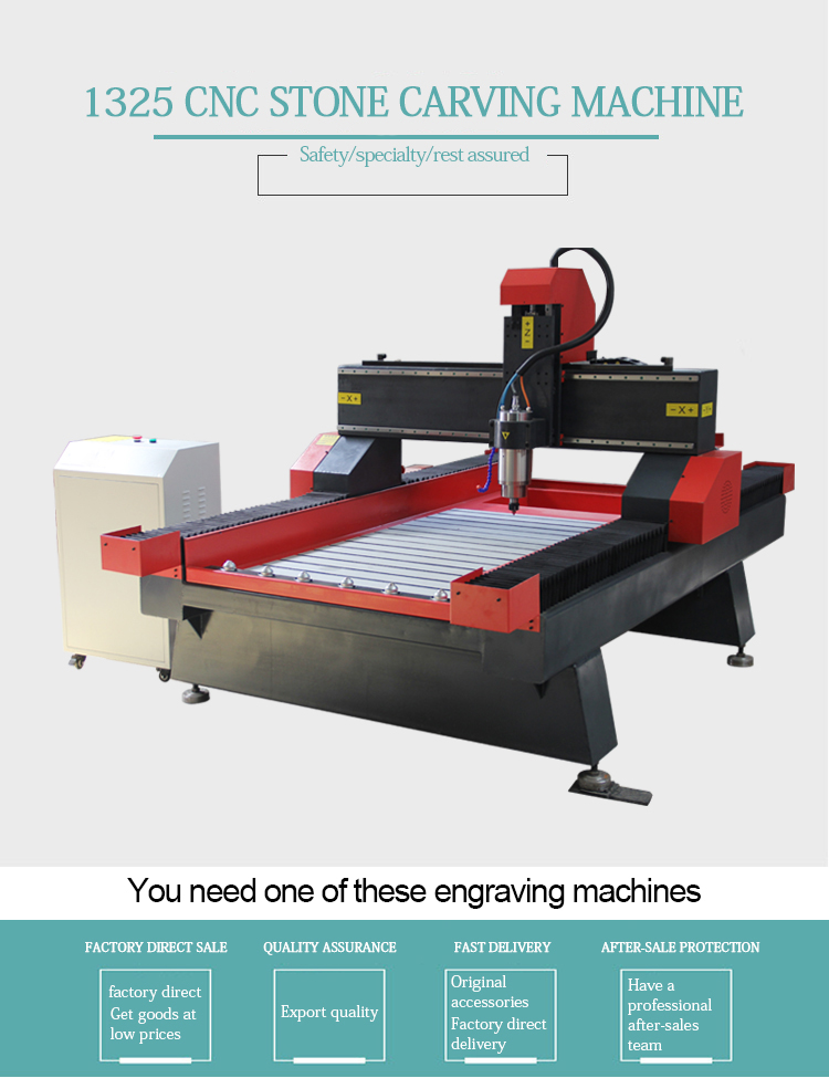 CNC 1325 stone engraving cutting machine price