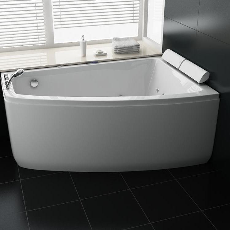 वापस करने के लिए दीवार स्पा स्नान refinishing, नई मॉडल IR1803 पोर्टेबल मालिश hottubs हीटर के साथ एक्रिलिक हवा और भँवर बाथटब