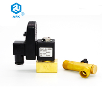24vdc/220vac electric drain air compressor solenoid valve with OPT timer