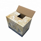 High Quality Corrugated Carton 12 Pack Beer Bottle Packing Box
