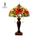 Electric power source beauty stained glass table tiffany lamp
