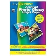 BIG PRINT 4X6 GLOSSY ARCHIVAL 100SHT