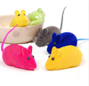 2015 QQAimigou cat toy mouse Silicone Rubber Dog Toys squeaky ball rubber mouse toy