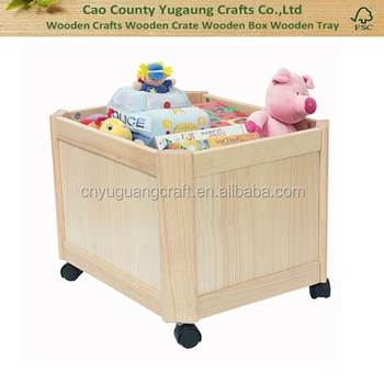 Custom Nursery Storage Toy Bo Baskets Bookcases On Wheels Wheeled Military Wood Box