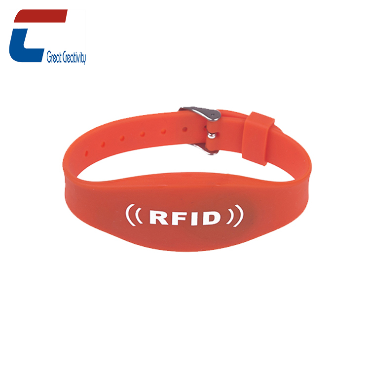 Personalized Smart Adjusted Writable MIFARE Ultralight C NFC Silicone Wristbands