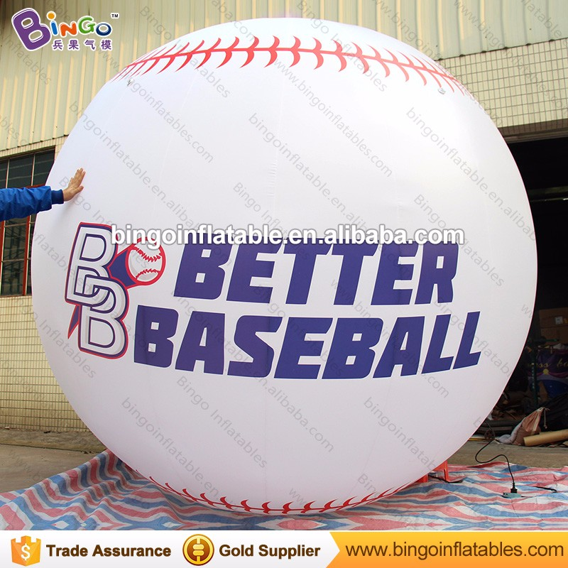 Inflatable Baseball Game type giant inflatable baseball for display
