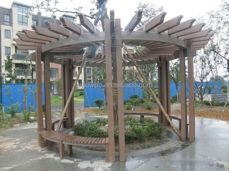 WPC pergola working in bad whether from China supplier