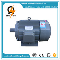 7.5kw 10hp ac energy saving fan cover electric motor drive