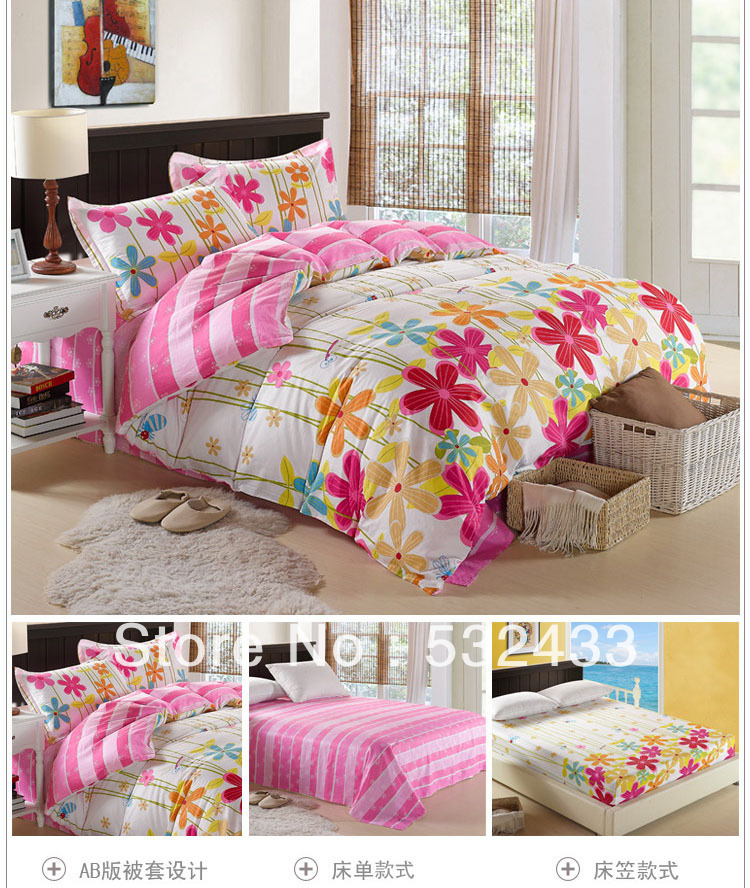 Hot & Discount Fitted King Size Girls Quilt,twin/full