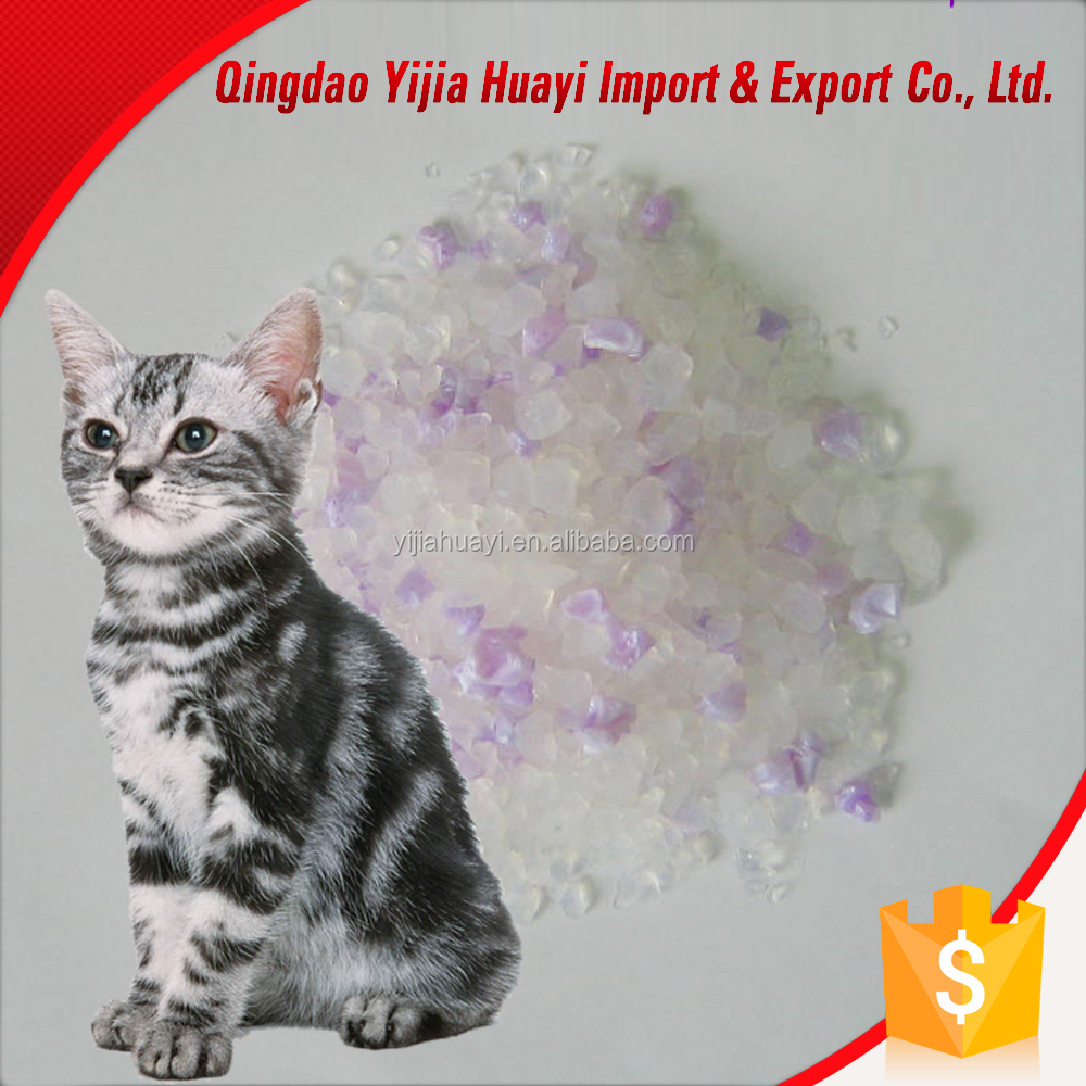 China Exporter Silica Gel Cat Litter Bulk
