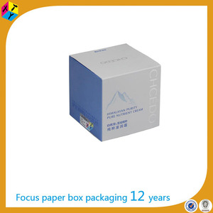 wholesale packaging cosmetic samples white 4x4x4 boxes
