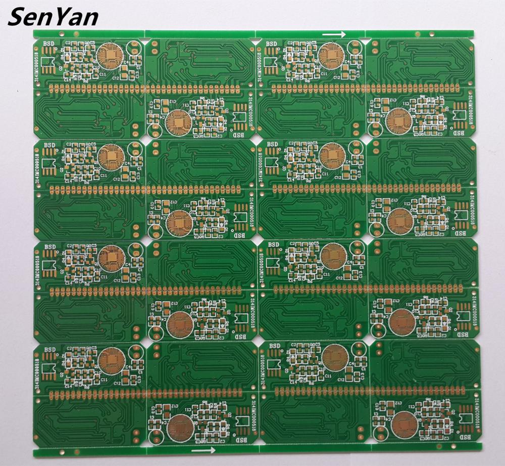 중국 전자 smoke detector pcb, pcba assembly fabrication