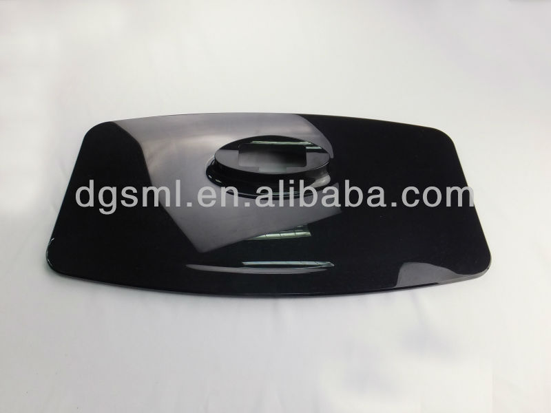 PC ABS Plastic Part injection mould for LED TV Plastic Base