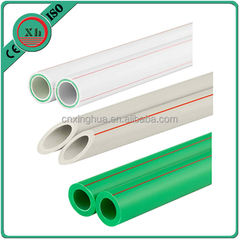 high quality plumbing material pure ppr pipe for cold and