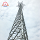30 meter self supporting galvanized angle steel tower for telecommunication