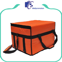 Reusable Insulated thermal tote Cooler Pizza delivery Bag