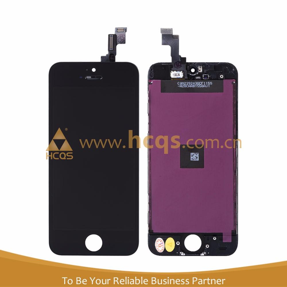 Mobile Phone Spare Parts for iPhone 5S spare parts tablet touch screen