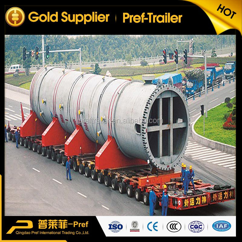 multi axle lines 500 tons hydraulic SPMT self-propelled modular transporter with engine