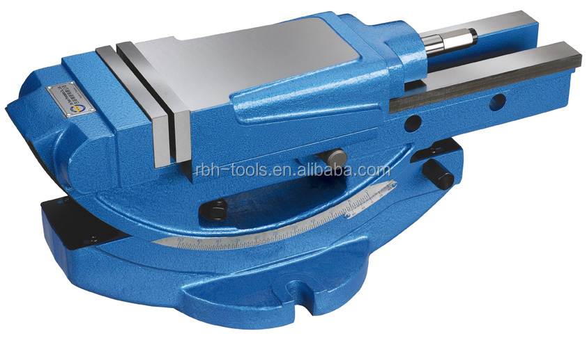 TILTING HYDRAULIC VISE | Vise for milling machine