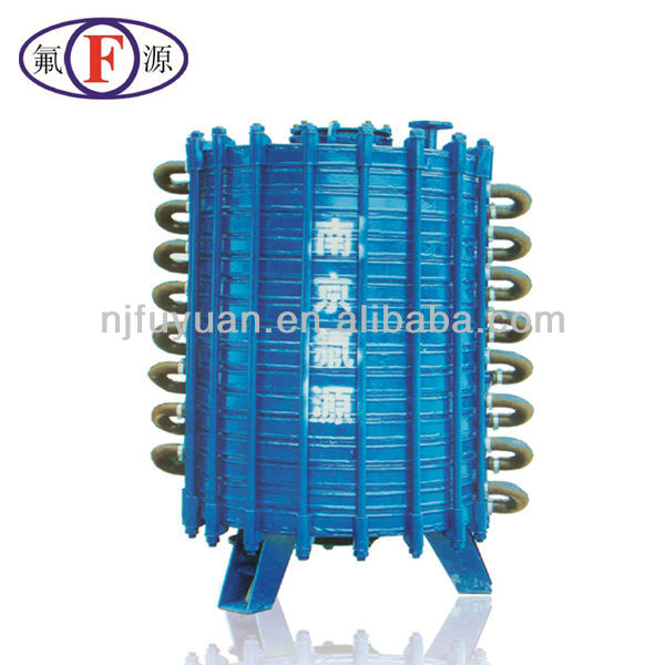 Use for chemical factory glass lined condenser