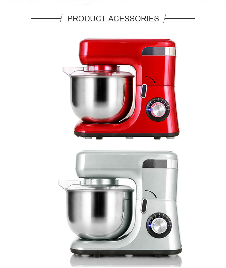 1200W/5.5L high quality fashion design kitchen machine, food processor, stand mixer