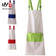 Hot sale adults cotton waterproof home apron salon