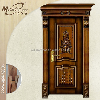 Kerala wooden main entrance gate door design buy main for Wooden main gate design