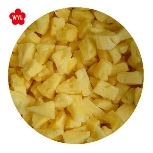 Frozen fruits iqf pineapple with good quality