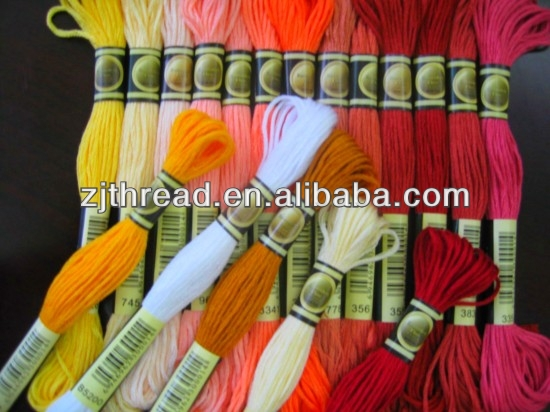 Cross stitch Embroidery Thread in different color