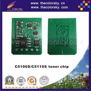 (TY-RC5100) toner cartridge reset chip for Ricoh Pro C5100S C5110S C5100 C5110 828350 828353 828351 828352 KCMY