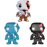 (Wholesale) Hot selling God of war Kratos #25 Funko pop DBZ PVC Action Figure,High Quality God of war Kratos figure for gift