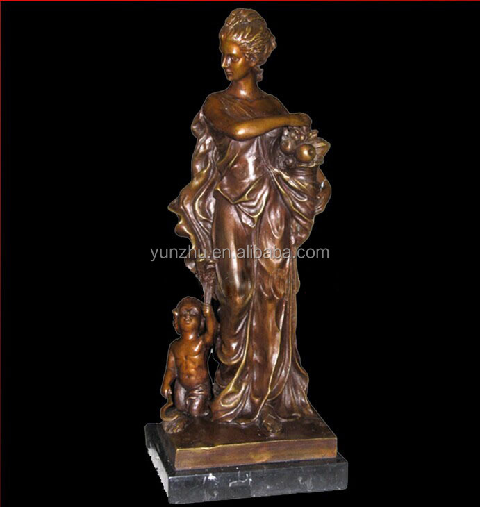 Casting large brass sculpture in art & collectible