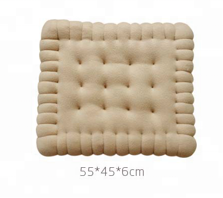 Appetitive biscuit body cushion country as a biscuit pillow