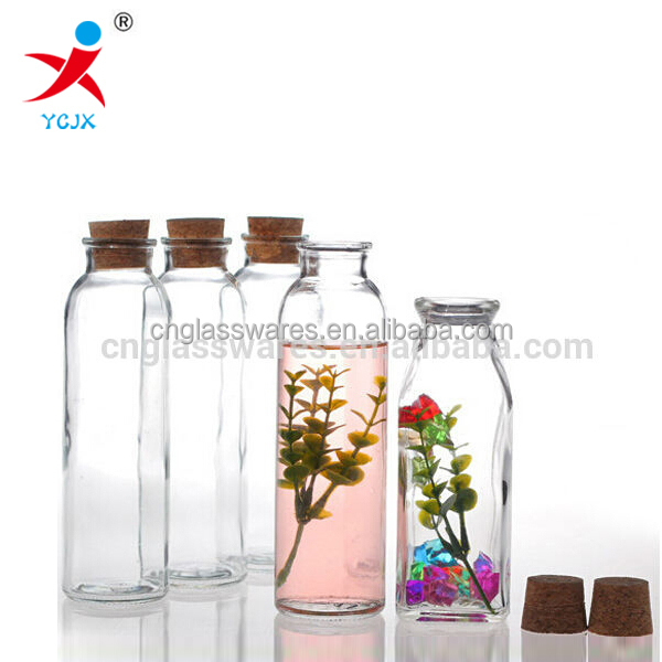 Large Glass Bottle With Cork 150ml Clear Bottle For Sale Buy Glass