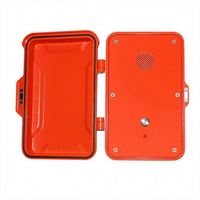 best outdoor 2 line wall mount phone set waterproof Emergency Telephone