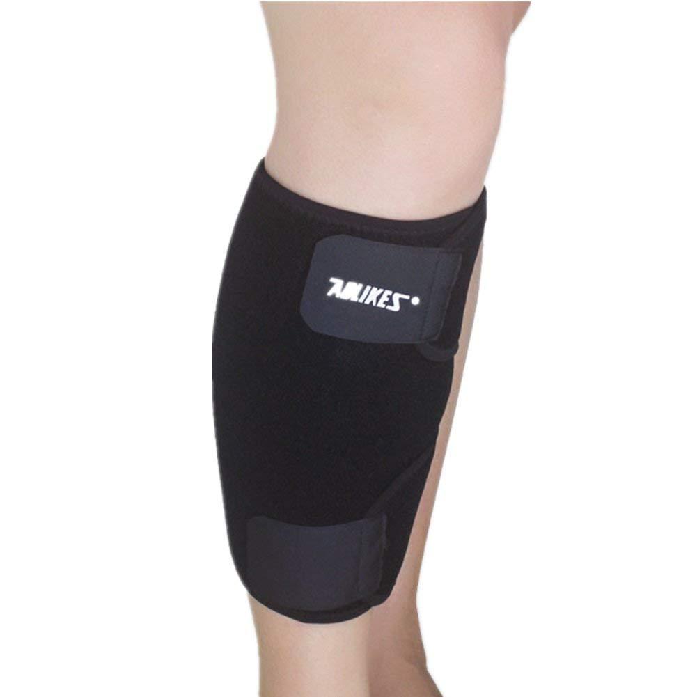 e5e7dd9967 Get Quotations · Mcolics Calf Compression Sleeve Brace - Best Adjustable  Neoprene Shin Splints Leg Compression Wrap Support for