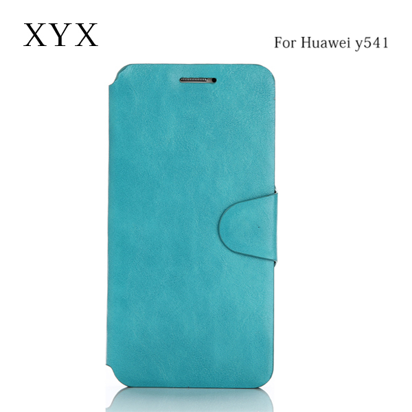 express ultra slim magnetic closure leather flip cover for huawei honor bee y541